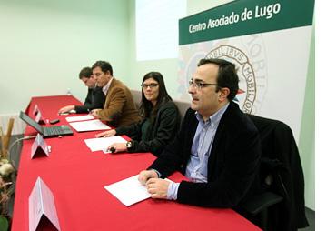 Anxo Lugilde, José Ramón Gómez Besteiro y Ana Belén Traseira