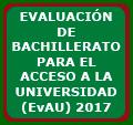 Pruebas EvAU (Evaluación de Bachillerato para acceso a la Universidad)