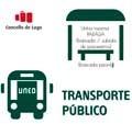 Liñas de bus ao Centro Asociado da UNED de Lugo