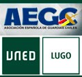 Firma do convenio entre la UNED de Lugo e a AEGC- Asociación Española de Guardias Civiles