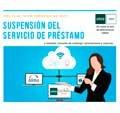 Suspensión provisional de servizos bibliotecarios