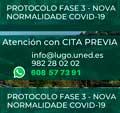 Protocolo FASE 3 COVID-19 de atención ao público na UNED de Lugo: Atención con cita previa, telefónica, ou vía electrónica